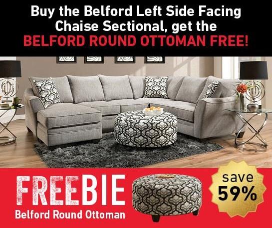 Belford Belford Sectional with FREEBIE! by Peak Living at Morris Home