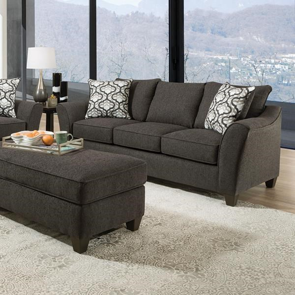 Belford Belford Sofa with Accent Pillows by Peak Living at Morris Home