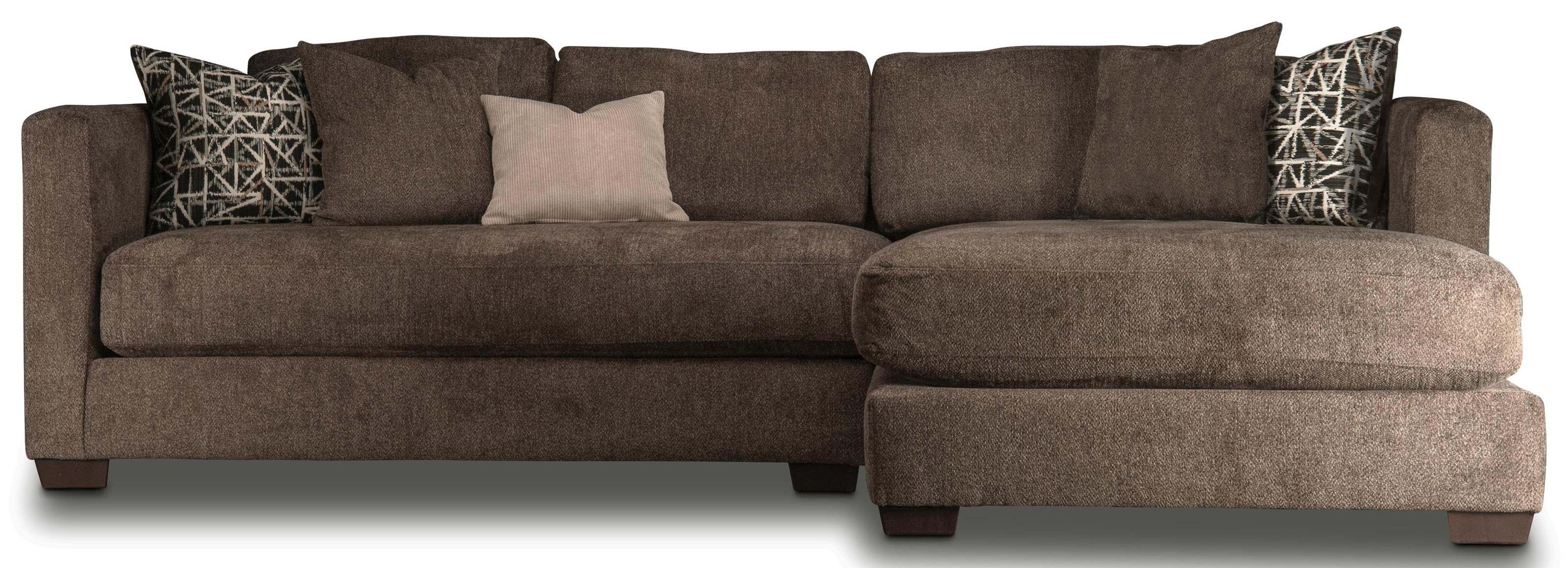 Burke Burke Sectional with Chaise by Peak Living at Morris Home