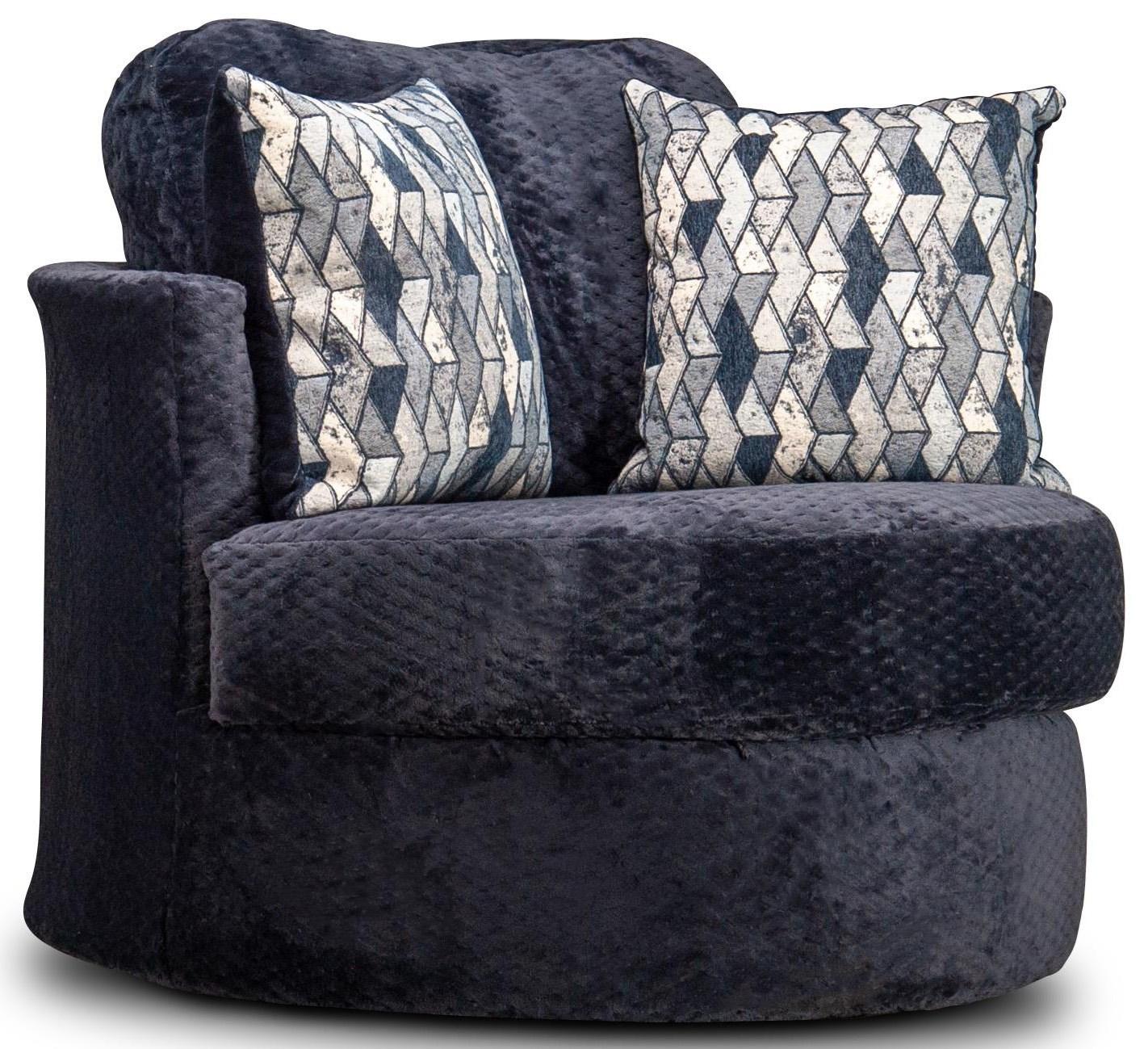 Leora Leora Barrel Chair by Peak Living at Morris Home