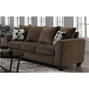 Tripp Sofa with Accent Pillows