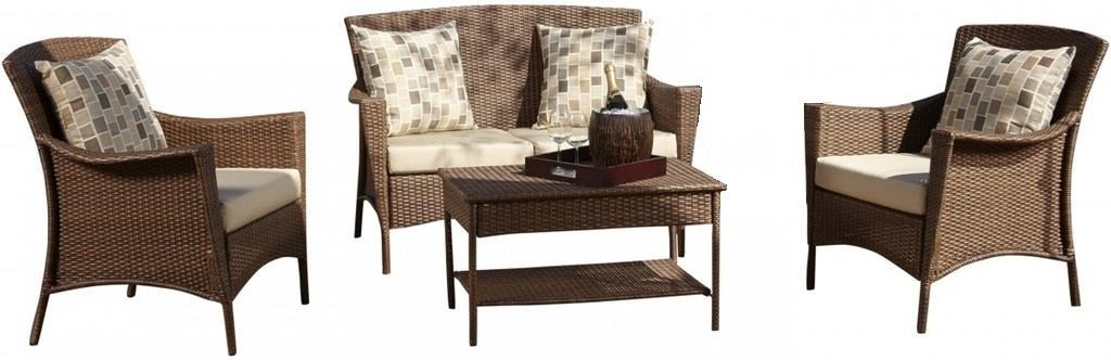 Key Biscayne 4pc Seating Set by Pelican Reef at Wilcox Furniture