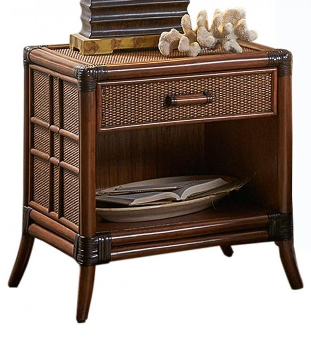Palm Island Nightstand by Pelican Reef at Baer's Furniture