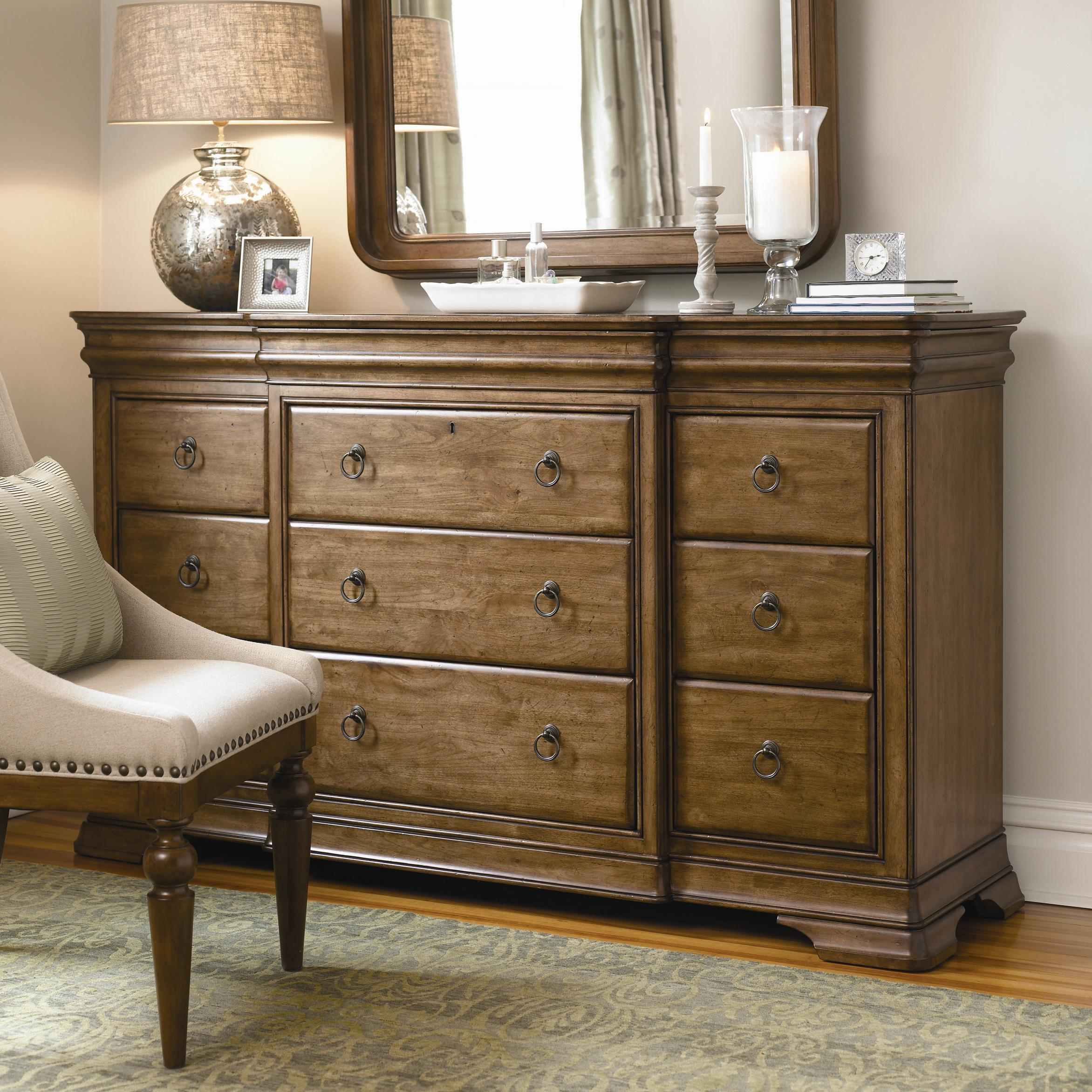 New Lou Drawer Dresser by Universal at Baer's Furniture