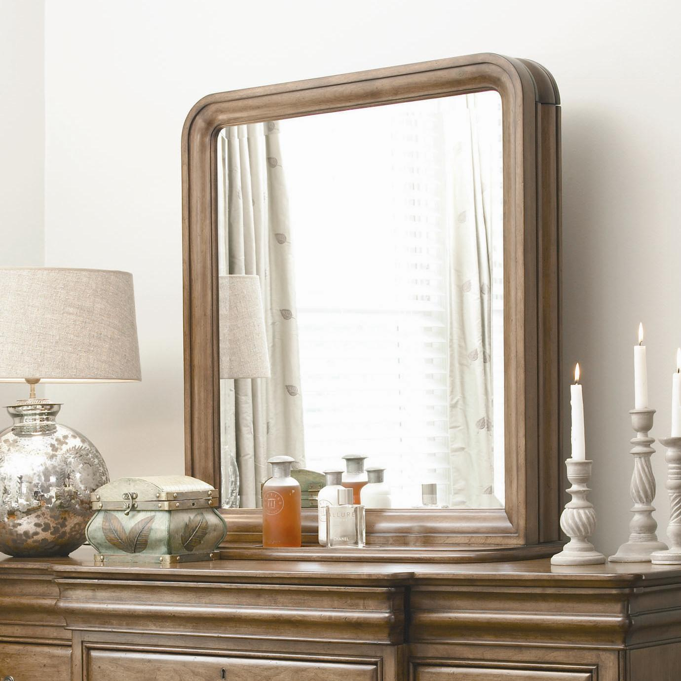 New Lou Vertical Storage Mirror by Universal at Baer's Furniture