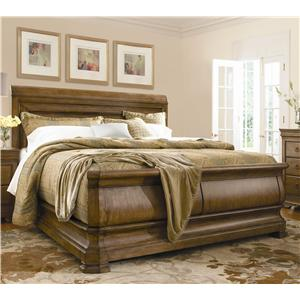 King Louie P's Sleigh Bed