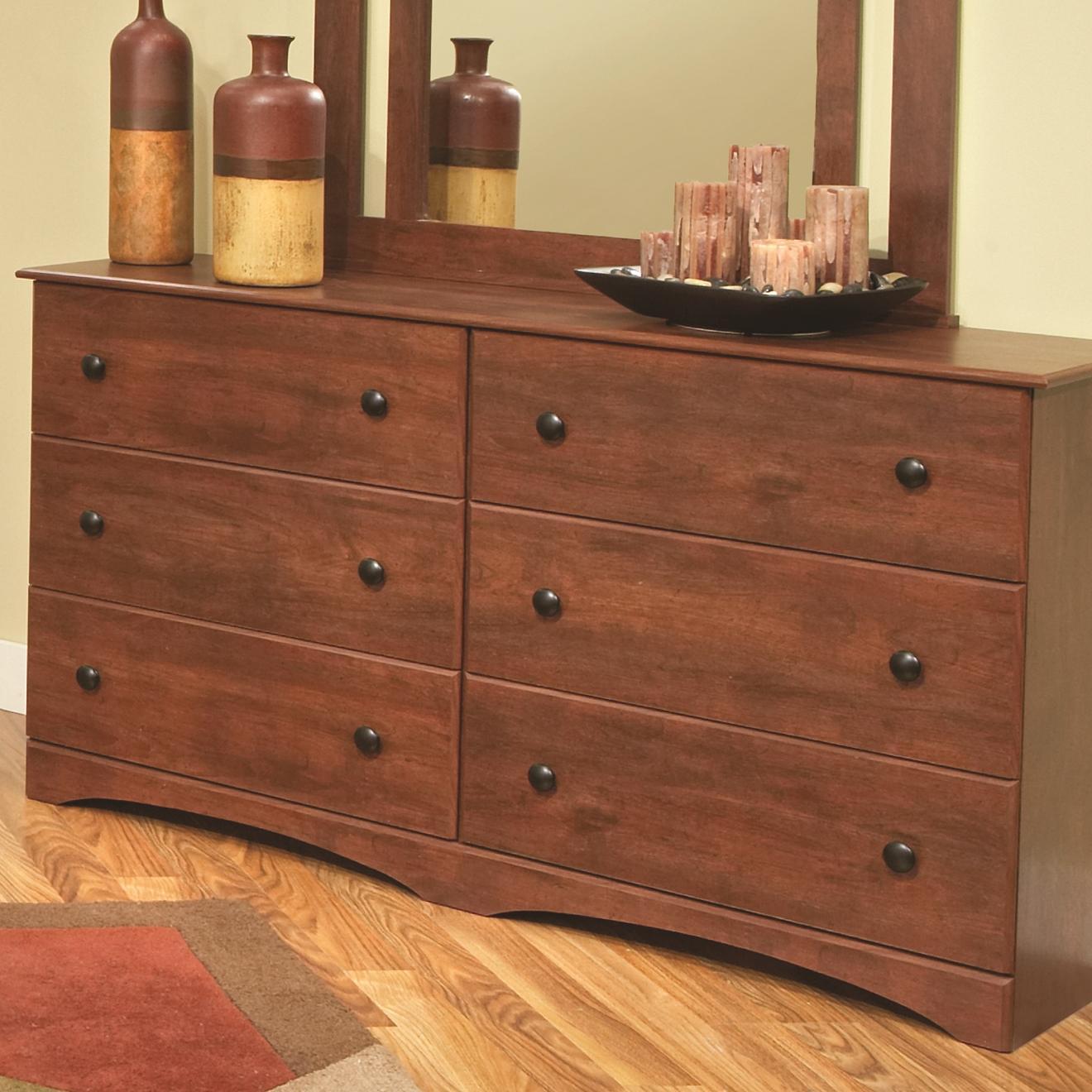 "59"" 6-Drawer Dresser"
