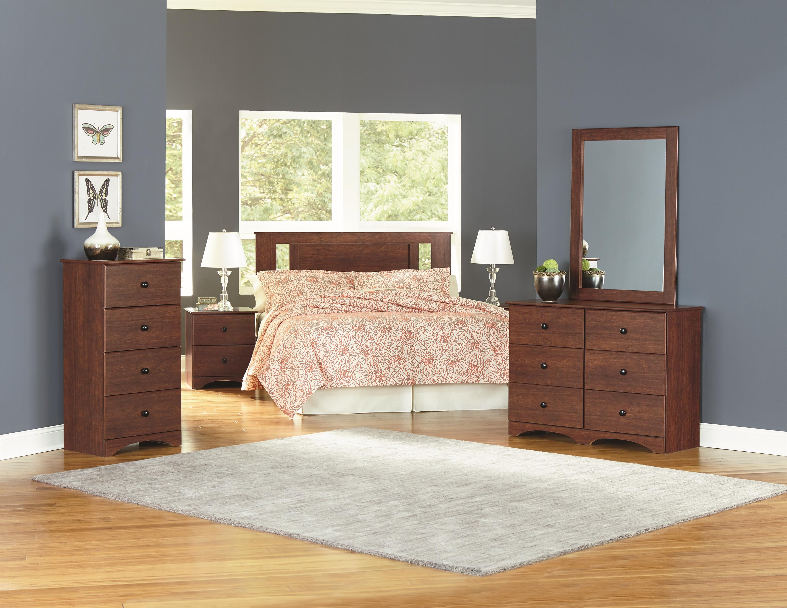 11000 Series Twin Panel Headboard Package by Perdue at Sam Levitz Outlet