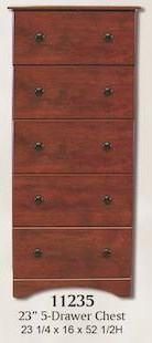 11000 Series Lingerie Chest by Perdue at Sam Levitz Furniture