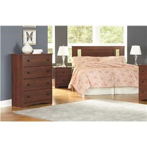 Queen Panel Headboard, Nightstand and Chest Package