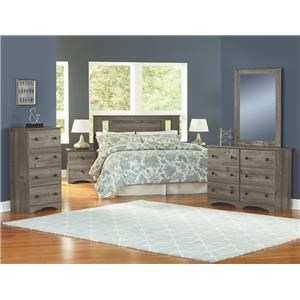 5 Piece Twin Bedroom Group