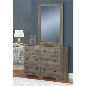 "45"" 6 Drawer Dresser"