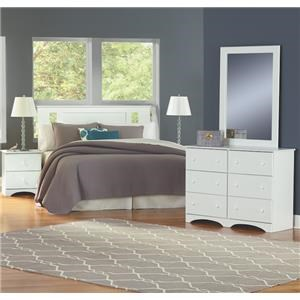 5 Piece Full Storage Bedroom Group