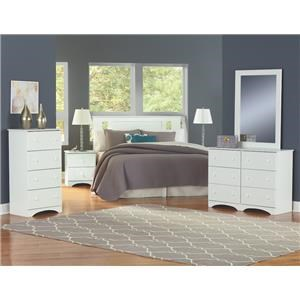 4 Piece Twin Bedroom Set