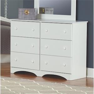 "6 Drawer 45"" Dresser"