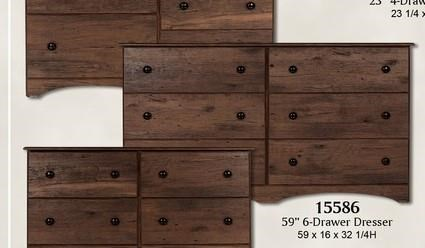 15000 Series Dresser by Perdue at Sam Levitz Outlet