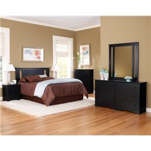 """45"""" Dresser and Mirror Combination"""