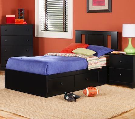 Twin Mates Storage Bed