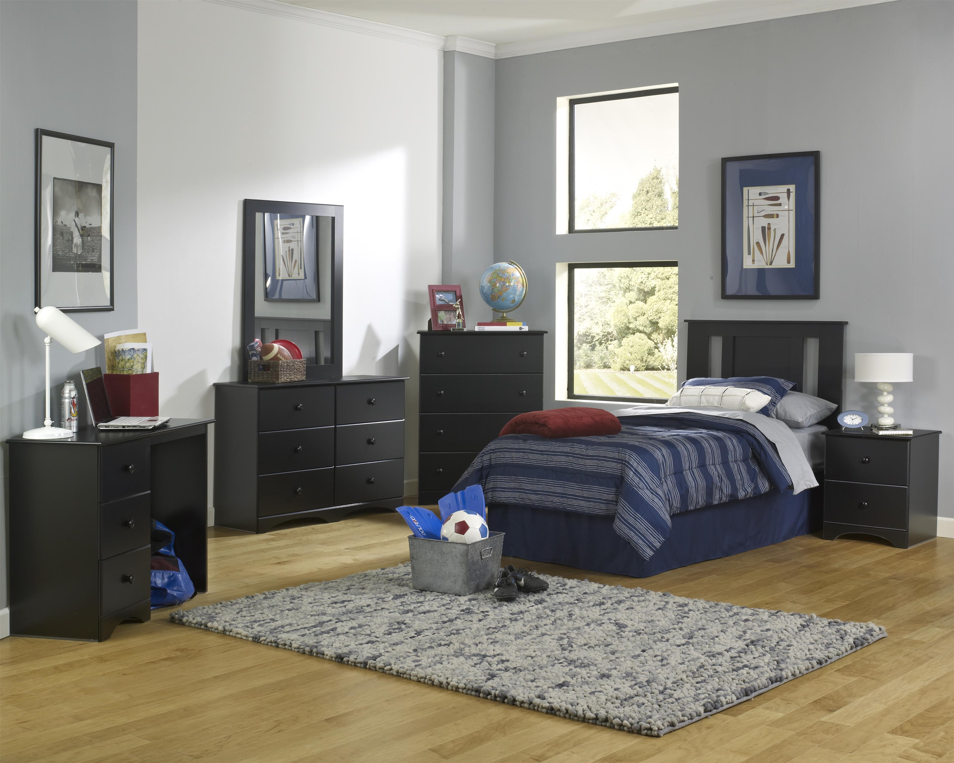 5000 Series Full Panel Headboard Package by Perdue at Sam Levitz Outlet