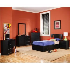 Twin Mates Storage Bed Base