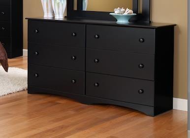 "5000 Series 6 Drawer 59"" Dresser by Perdue at Sam Levitz Furniture"