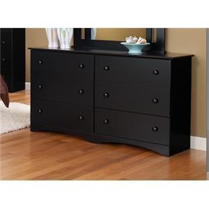 "6 Drawer 59"" Dresser"