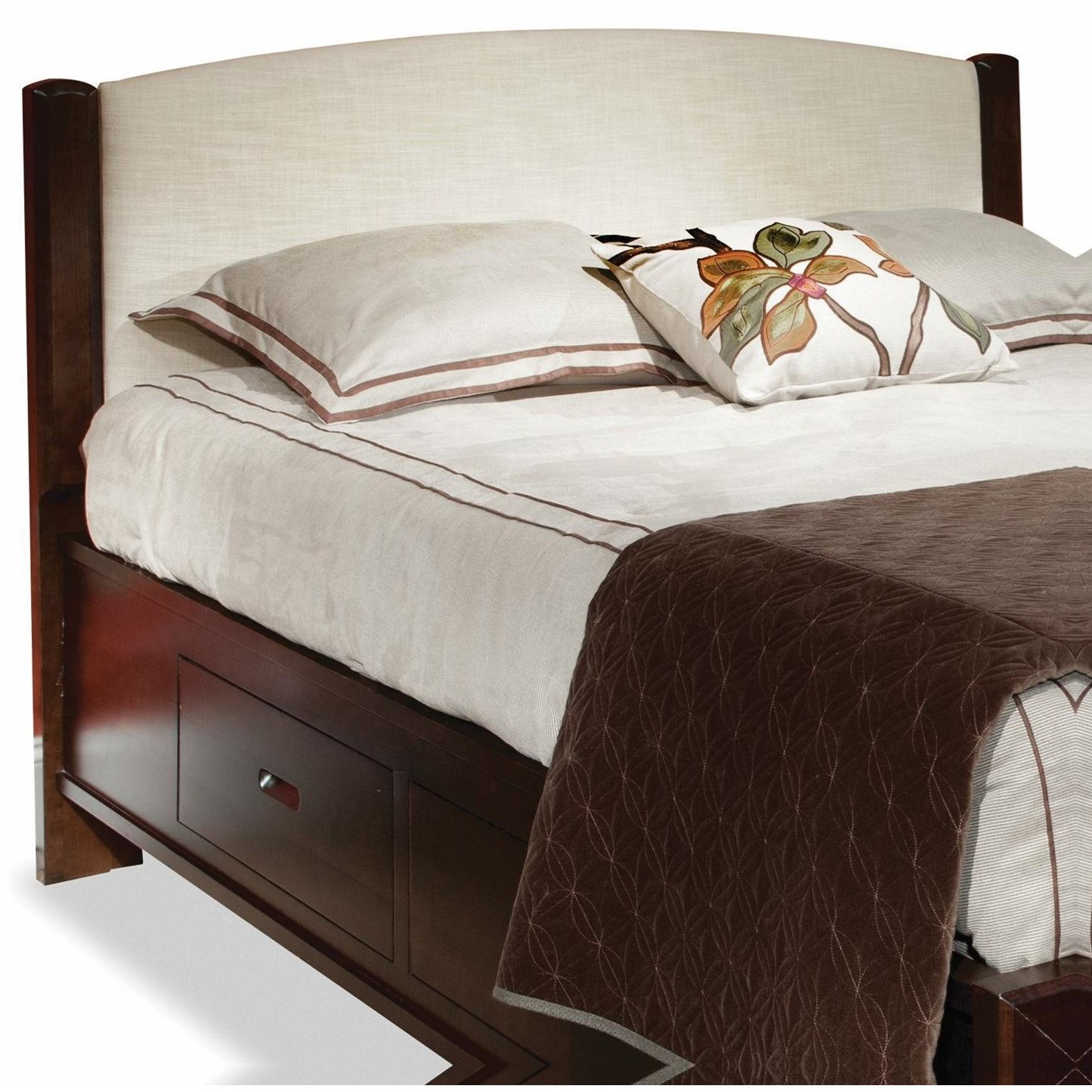 Beds Double Fabric Panel Headboard by perfectbalance by Durham Furniture at Stoney Creek Furniture