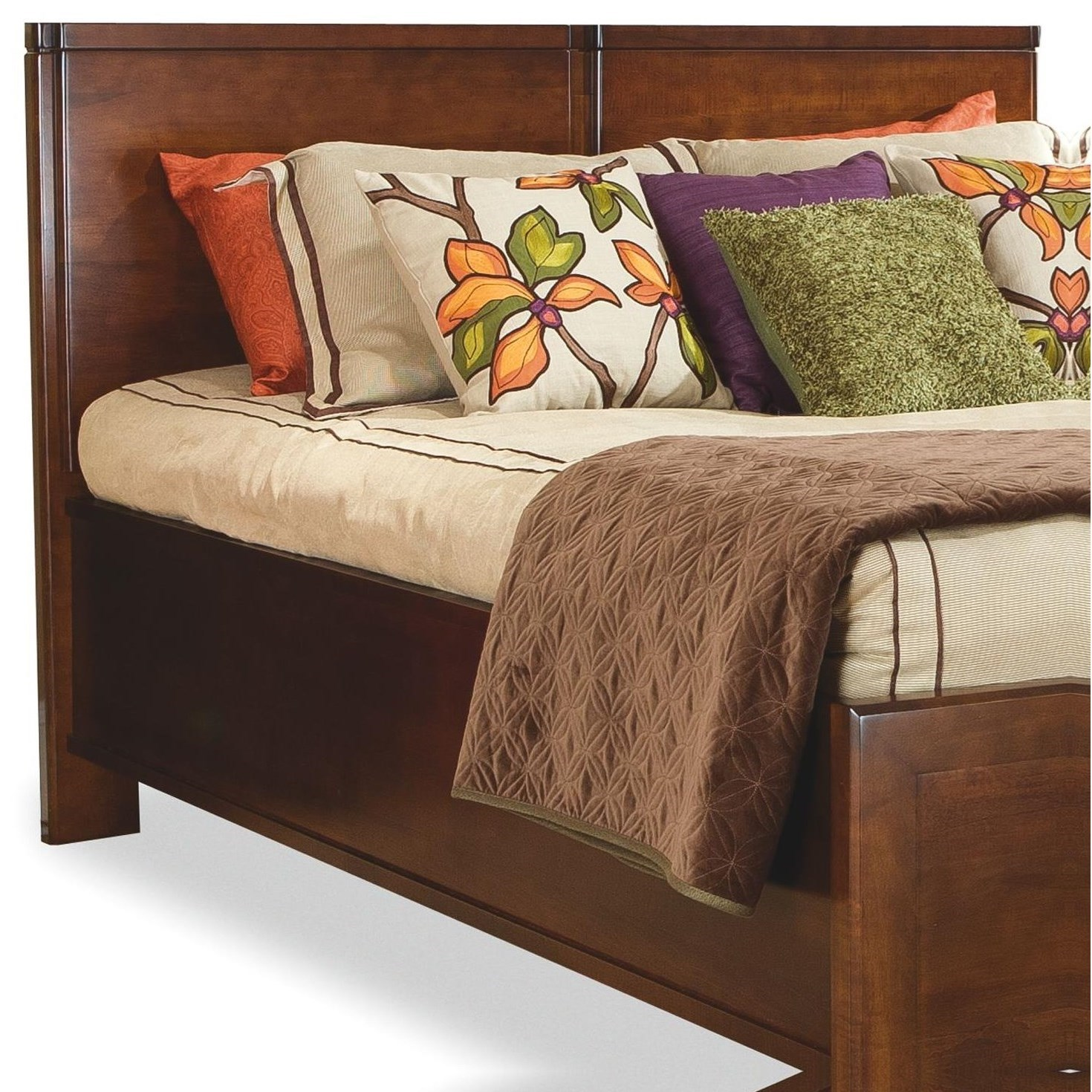 Beds Queen Wood Panel Headboard by perfectbalance by Durham Furniture at Stoney Creek Furniture