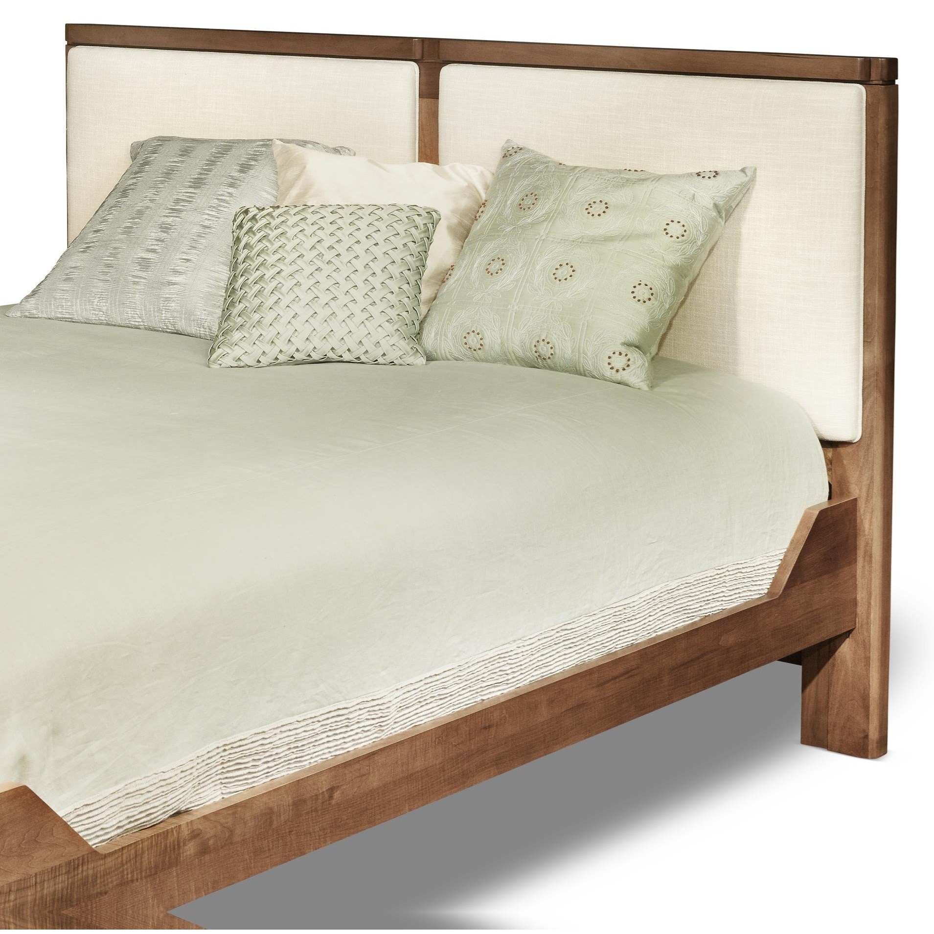 Beds Queen Upholstered Headboard by perfectbalance by Durham Furniture at Reid's Furniture