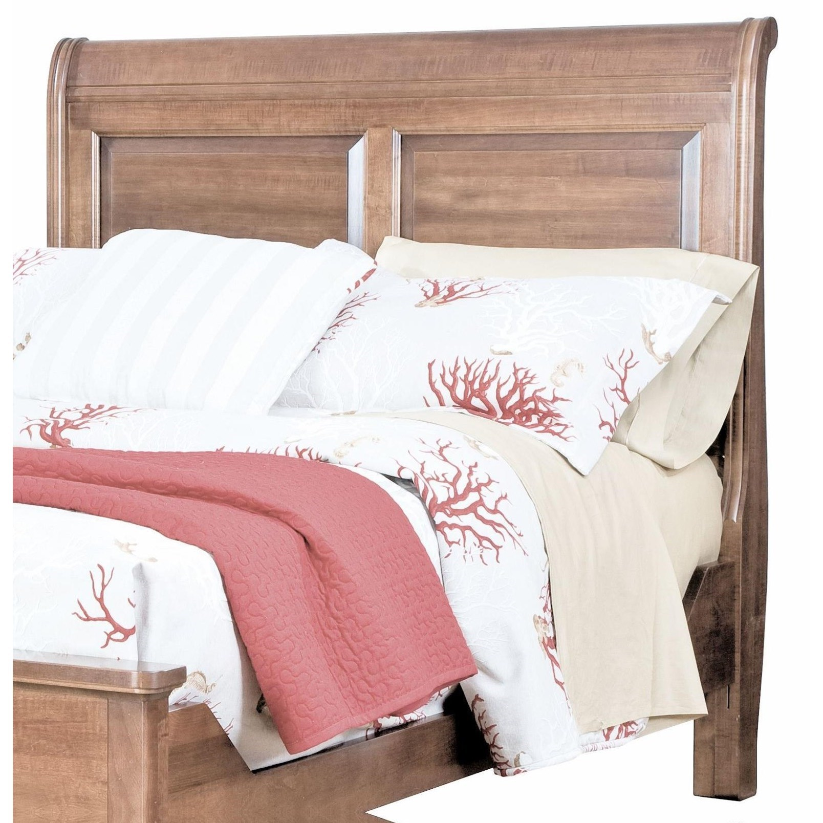 Beds Queen Sleigh Headboard by perfectbalance by Durham Furniture at Stoney Creek Furniture