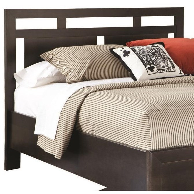 Beds Low Profile King Headboard by perfectbalance by Durham Furniture at Reid's Furniture