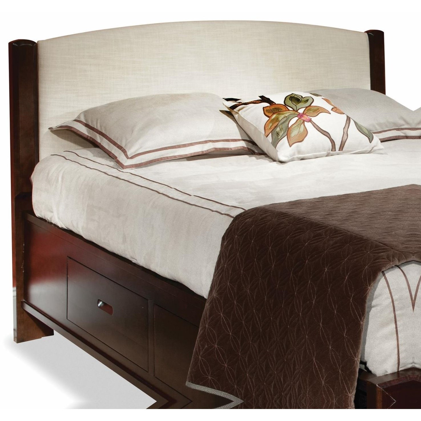 Beds King Fabric Panel Headboard by perfectbalance by Durham Furniture at Stoney Creek Furniture