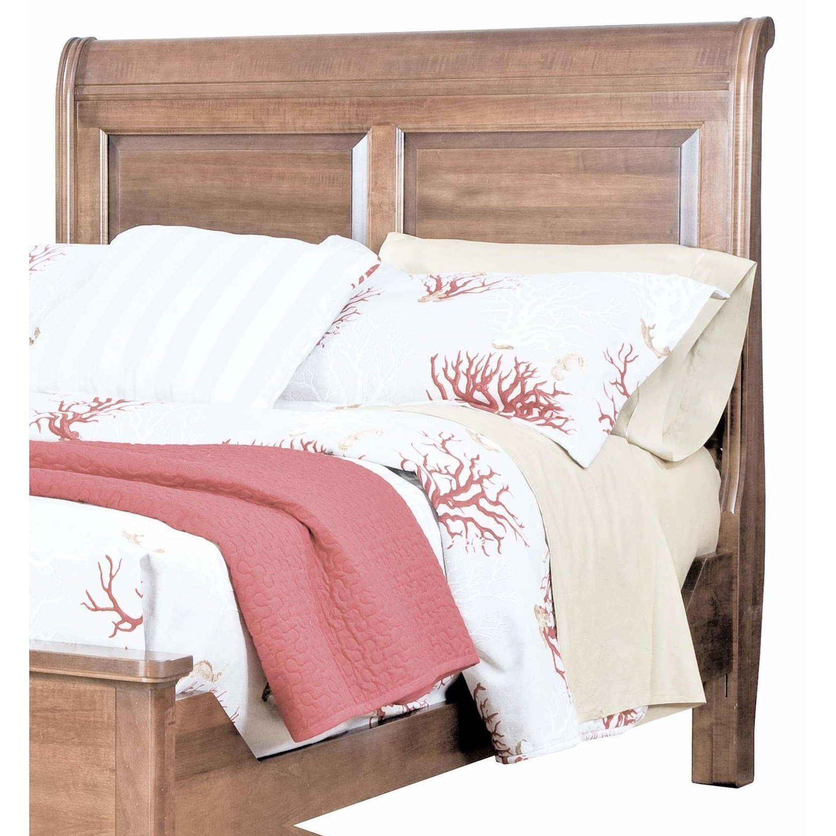 Beds King Sleigh Headboard by perfectbalance by Durham Furniture at Stoney Creek Furniture