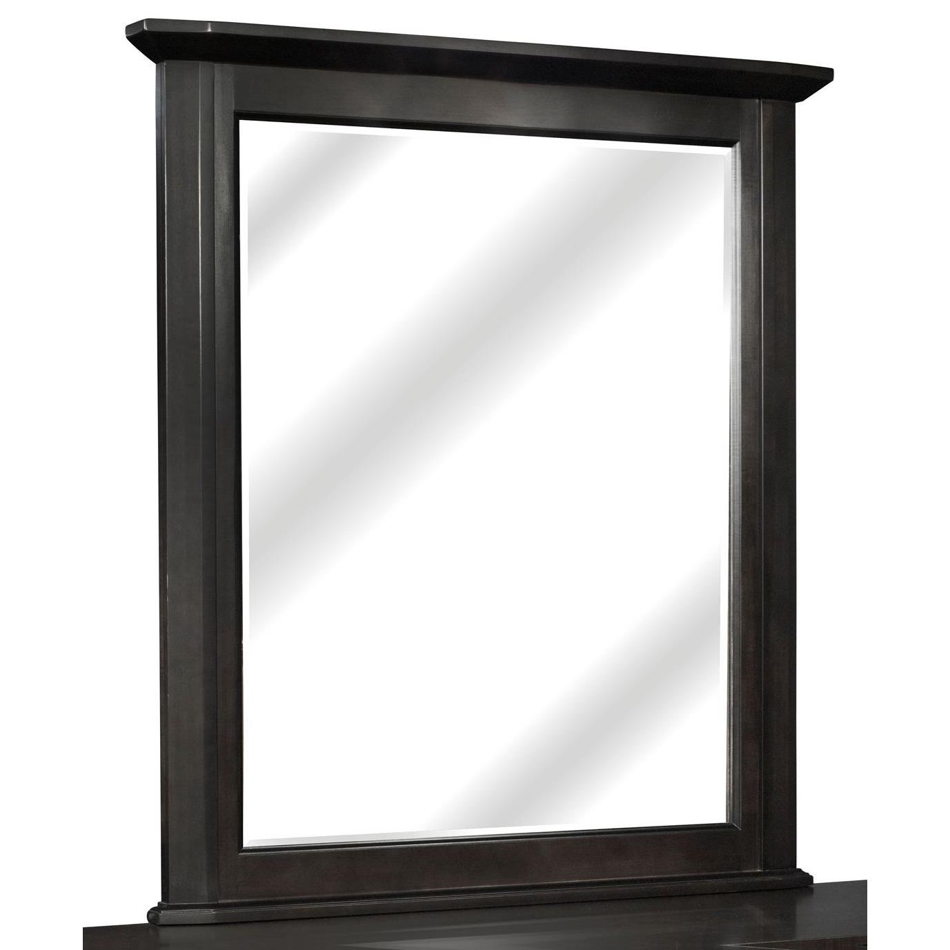 Urbane Vertical Frame Mirror by perfectbalance by Durham Furniture at Stoney Creek Furniture