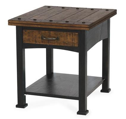 Sawmills End Table by Peters Revington at Westrich Furniture & Appliances