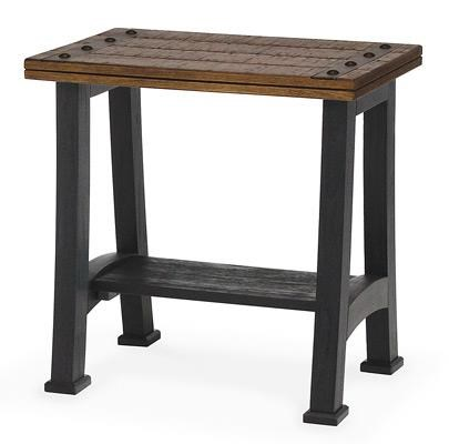 Sawmills Chairside Table by Peters Revington at Westrich Furniture & Appliances
