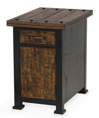 Sawmills Chairside Cabinet by Peters Revington at Westrich Furniture & Appliances