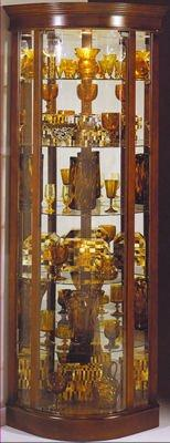 Curios Curio Cabinet by Philip Reinisch at Darvin Furniture