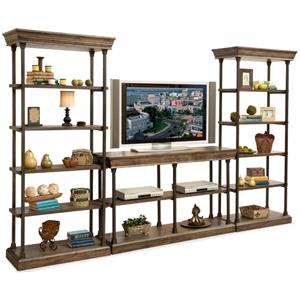 Sonoma TV Console and Display Piers