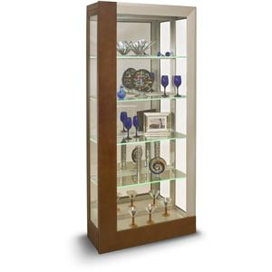 Centaurus Accent Cabinet with LED Touch Lighted Shelves