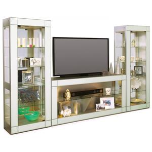 Altair I Bunching Entertainment Wall Unit