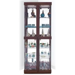 Rohe I Corner Curio Cabinet