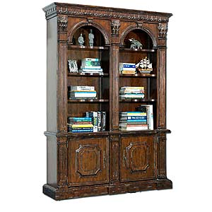 Philippe Langdon St James Two Arch Bookcase