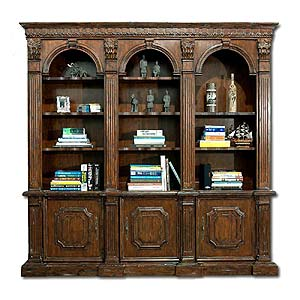 Philippe Langdon St. James 3 Arch Bookcase