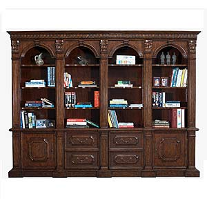 Philippe Langdon St. James 4 Arch Bookcase