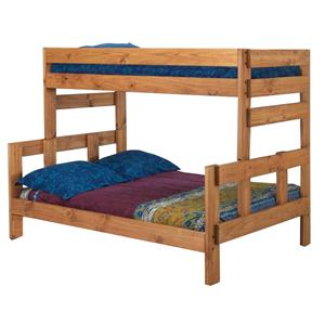 Pine Crafter Youth Bedroom Twin/Full Stackable Wood Bunk Bed
