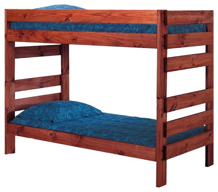 4000 Twin Over Twin Stackable Bunk Bed by Pine Crafter at VanDrie Home Furnishings