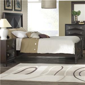 Pinewood International Concept Queen Headboard Footboard Bed