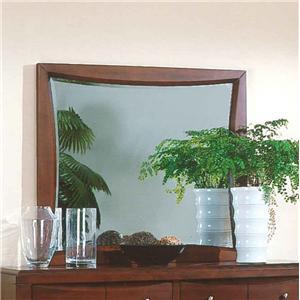 Pinewood International Casual Cherry Rectangular Mirror