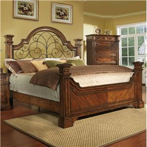 Pinewood International Wellington  Panel Queen Size Bed